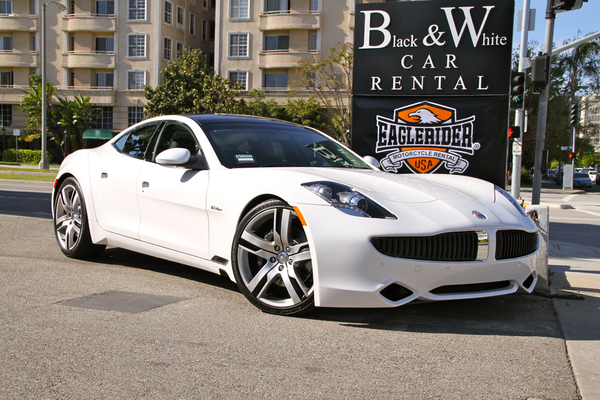 Black White Car Rental Los Angeles