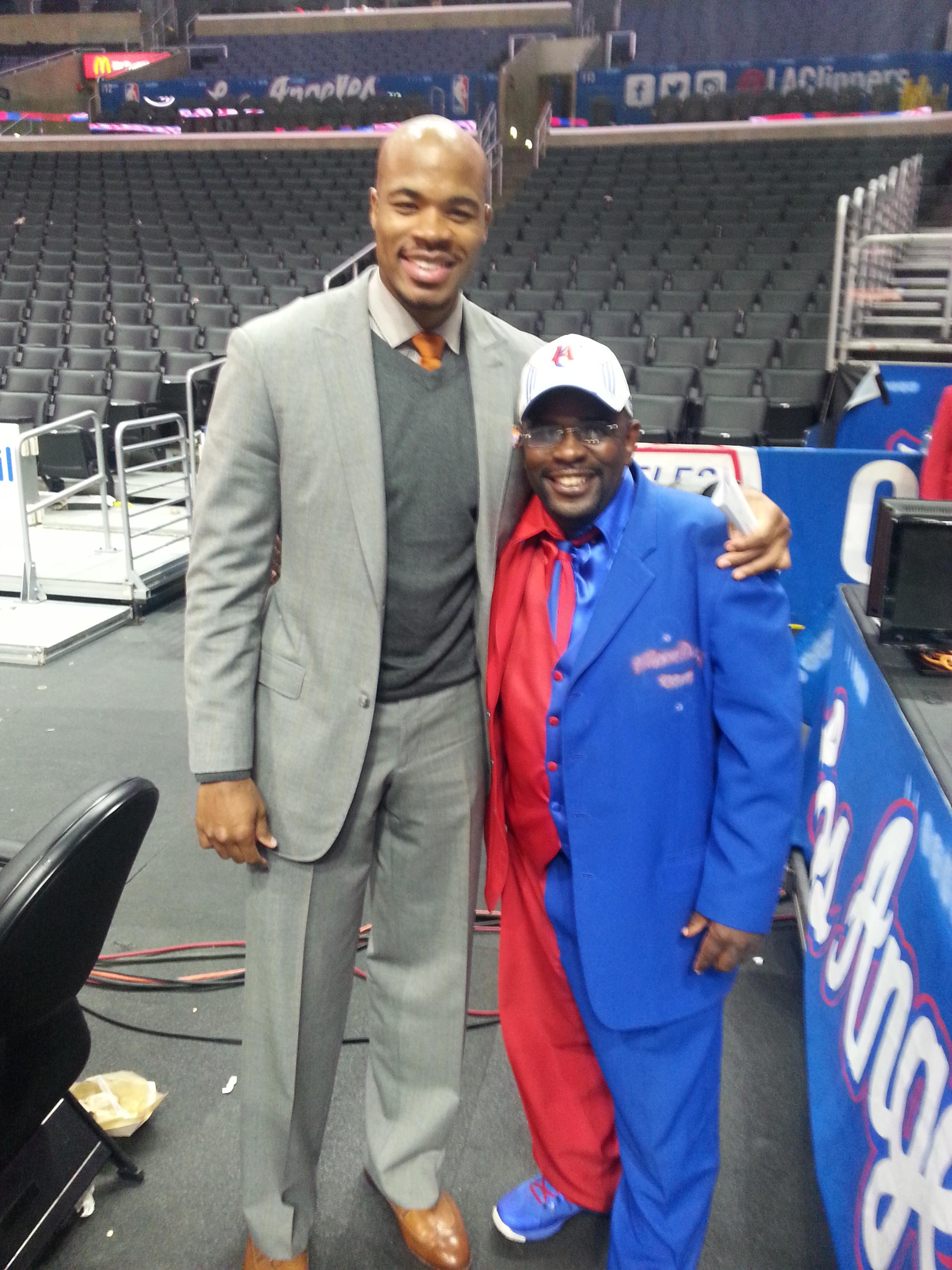 Congratulations 2 L A Clippers Legend Corey Mag te